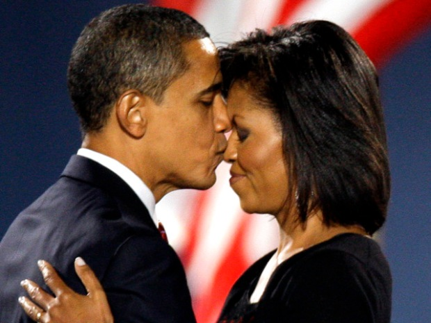 [NATL-DC]Presidential Love Story: First Couple in Photos