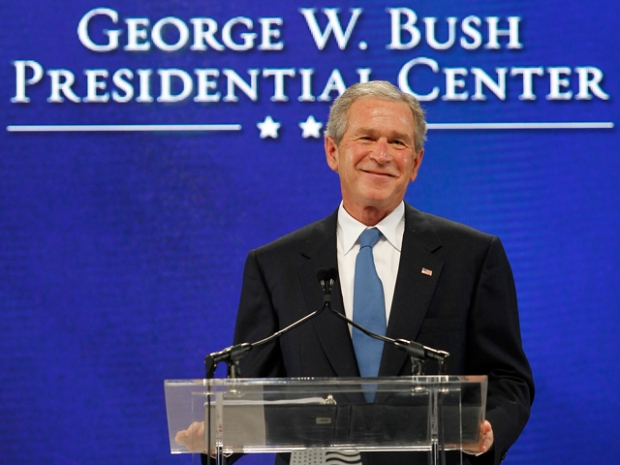 George W. Bush Presidential Center Groundbreaking