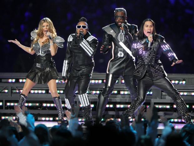[NATL] Black Eyed Peas Halftime Show in Photos