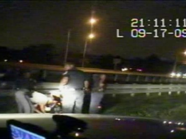 [DC] Raw Video: Dash Cam of Delonte West Arrest