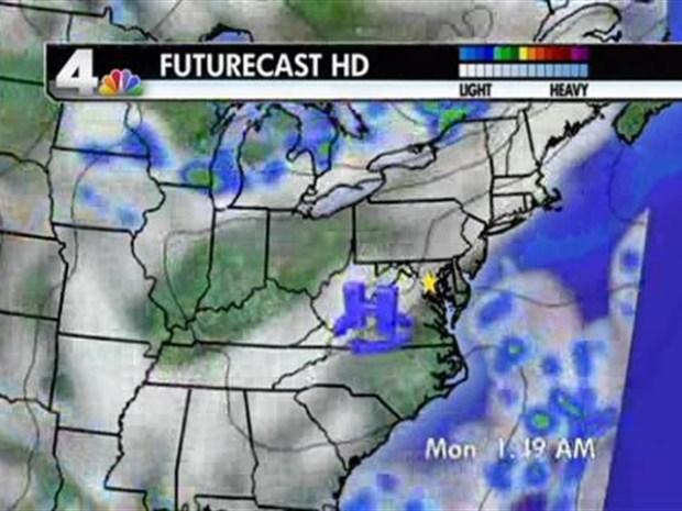 [DC] Weather Forecast 8/7/10