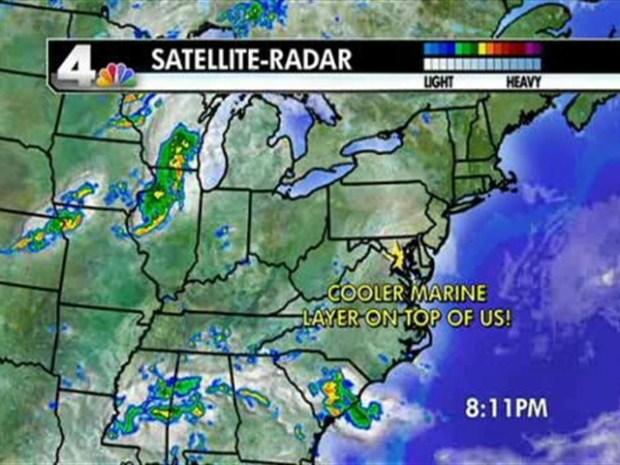 [DC] Weather Forecast 8/14/10
