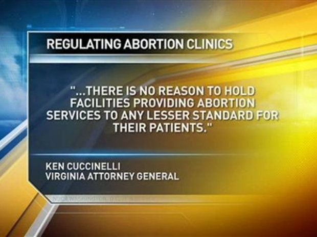 [DC] Tougher Standards at Va. Abortion Clinics