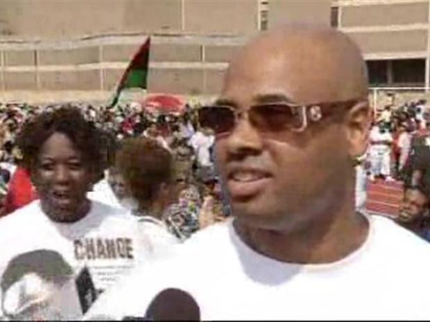 [DC] Rev. Al Sharpton Kicks Off Rally and March