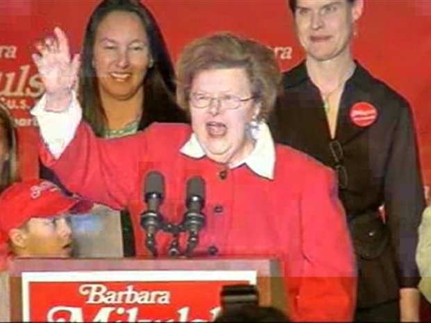 [DC] Mikulski Declares Victory
