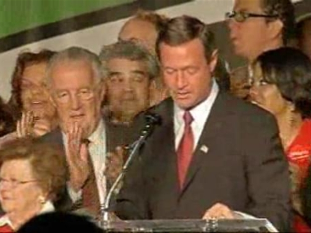 [DC] Gov. Martin O'Malley Gives Victory Speech