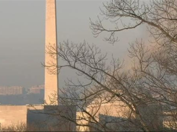 [DC] Raw Video: National Mall Smoke, Fire (View from Capitol)