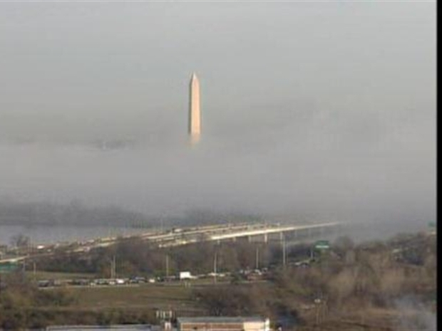 [DC] Washington Monument Fog