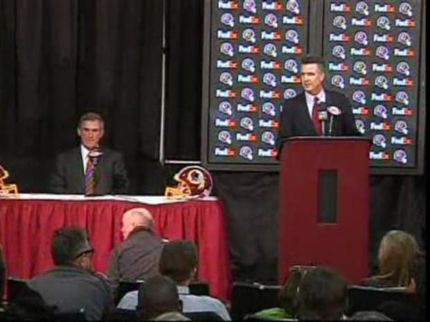 [DC] Bruce Allen Introduces Mike Shanahan