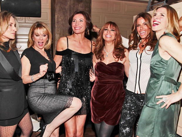 """Last Night in NY: """"Real Housewives"""" Take Manhattan"""
