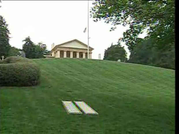 [DC] Kennedy Grave Site Gets Prepped at Arlington