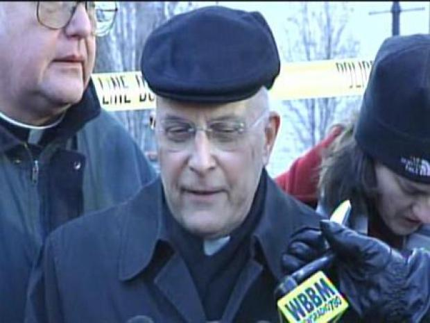 "[CHI] Cardinal George:  ""Icicles on the Pews and Water Pouring Through the Ceiling"""