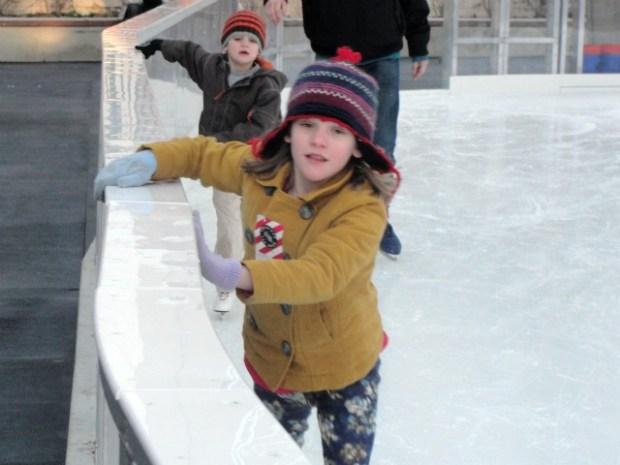 Ice Skating in Silver Spring