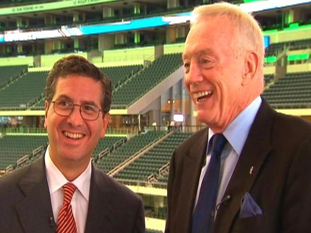 [DC] Jerry Jones, Dan Snyder Candid About Relationship