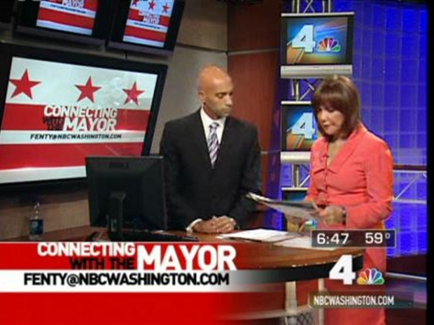 [DC] Connecting With The Mayor 10/29/09
