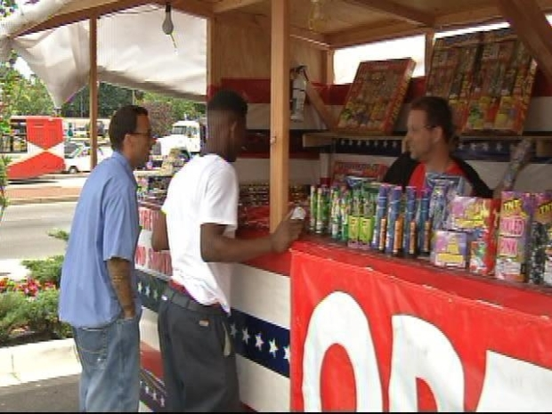 [DC] Fireworks Stands Inspected Ahead of the Fourth