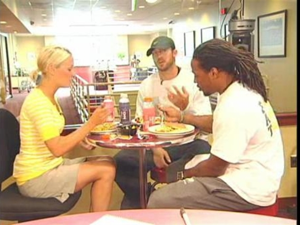 [DC] Lunch With Lindsay: Redskins' Doughty and Horton