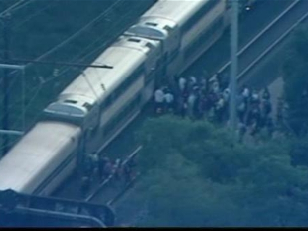 [DC] Passengers Stuck on Hot Train