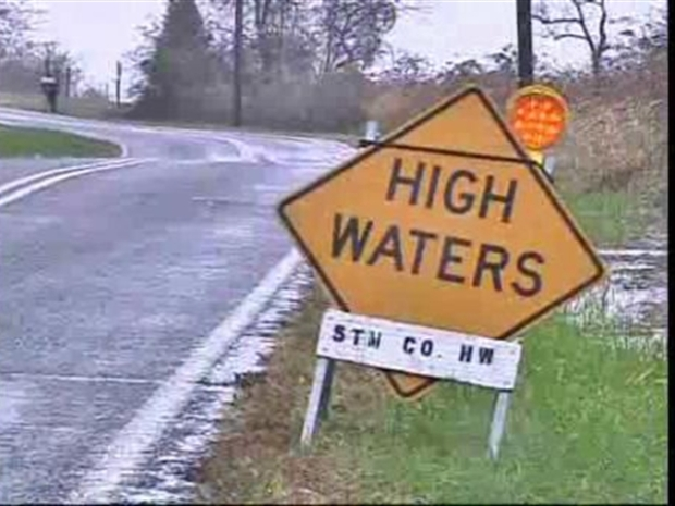 [DC] Maryland Residents Deal With Rain, Wind From Nor'Easter