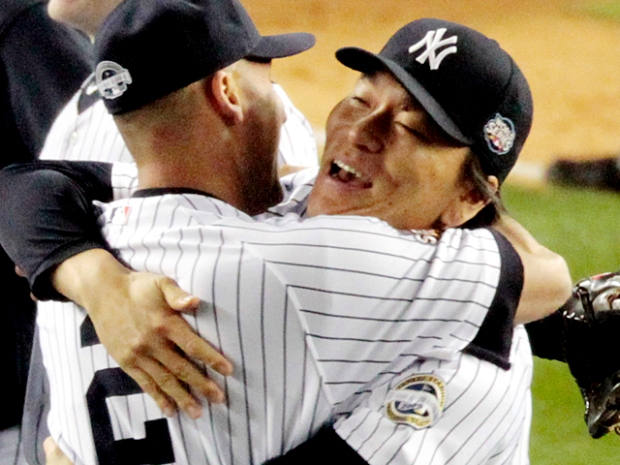 Photos: The Yankee's Champagne-Soaked Celebration