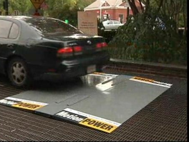 [DC] Speed Bumps Harvest The Power Of Your Car