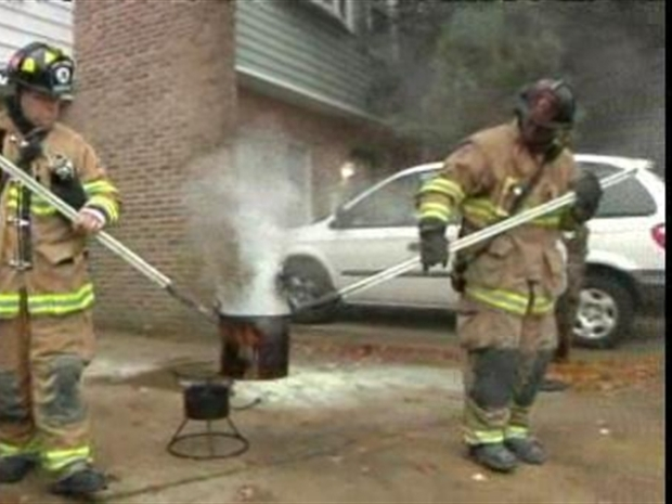[DC] Fryer Fire Threatens Family's Thanksgiving