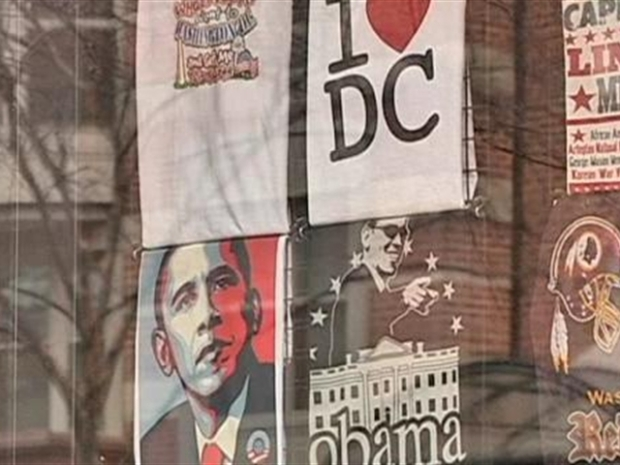[DC] One Year Later Obama Souvenirs Still Sell