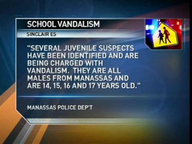 [DC] Juveniles Vandalize School With Hate Sod