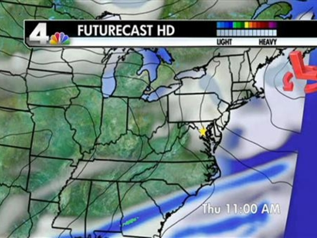 [DC] Noon Weather Forecast 02/01/11