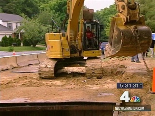 [DC] Broken Water Main Reminds of Crumbling Infrastructure