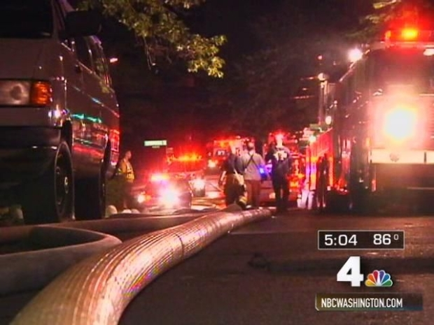 [DC] Chain Bridge Road Mansion Fire Hard to Right: Report