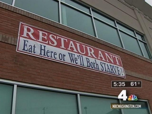 "[DC] ""Eat Here or We'll Both STARVE!"""
