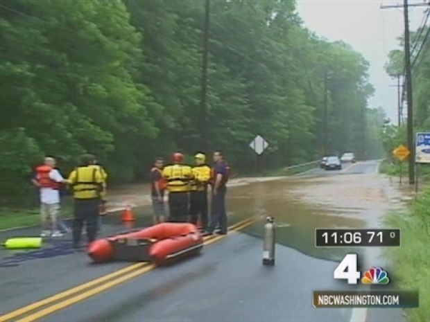 [DC] High-Water Rescue in PG County