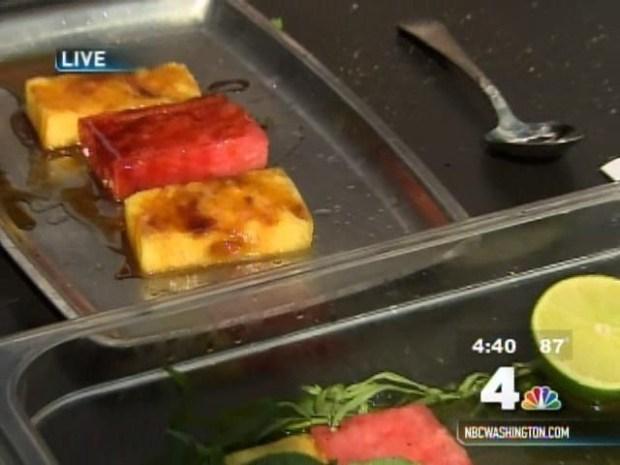 [DC] Grilled Watermelon Salad