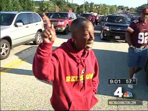 "[DC] ""If It Ain't Broke, Don't Fix It"": Redskins Tailgater"
