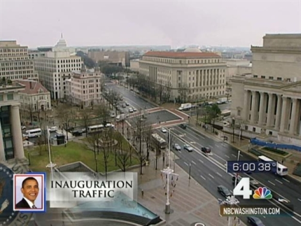 [DC] Large Area of DC Closed to Cars for Inauguration