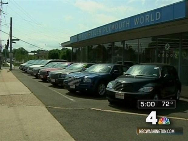 Chrysler To Local Dealers Hit The Road NBC Washington - The nearest chrysler dealership