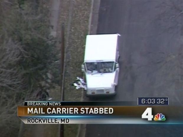 [DC] Mail Carrier Stabbed in Apparent Robbery
