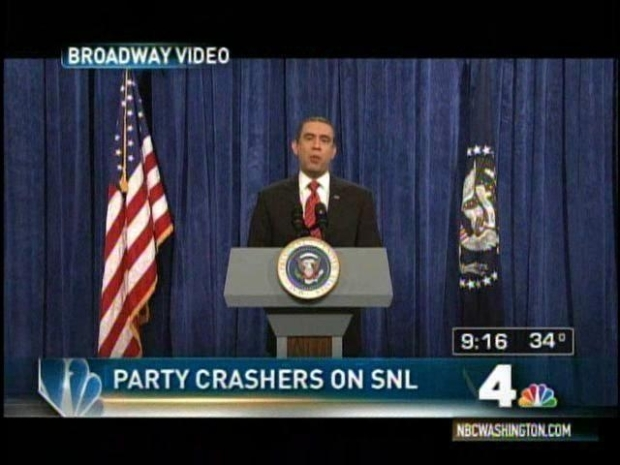[DC] Obama Party Crashers' SNL Moment