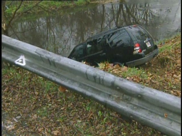 [DC] RAW VIDEO: SUV Plunged Into Stream