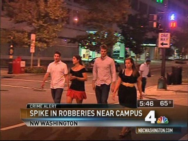 "[DC] Robberies Near GW Are ""Terrible"": Student"