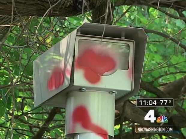 [DC] Speed Cams Vandalized