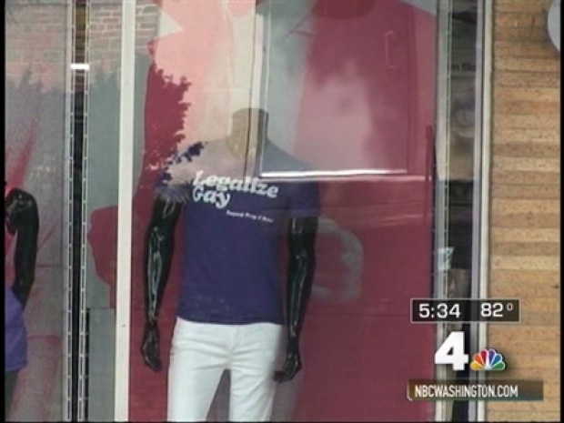 [DC] Store Vandalized Over Same-Sex Marriage Shirt