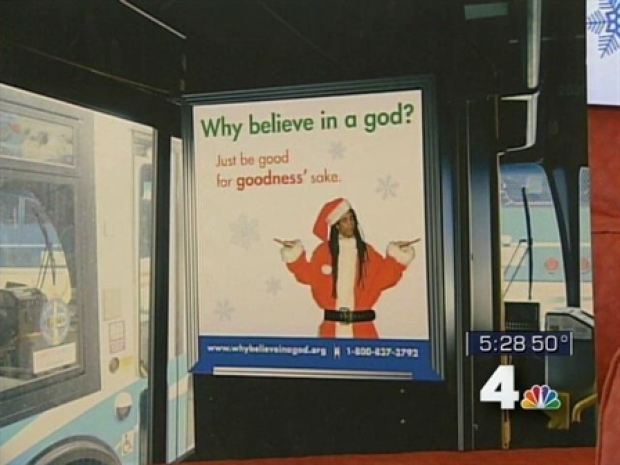 [DC] 'Why Believe in a God?' Ads Upset Many
