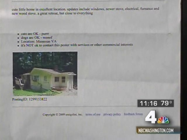 [DC] Your Home Could Be on Craigslist