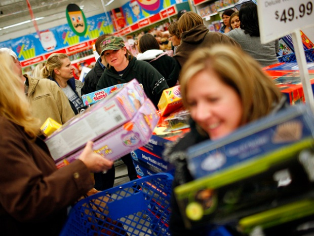 [NATL] Dramatic Photos: Black Friday Frenzy