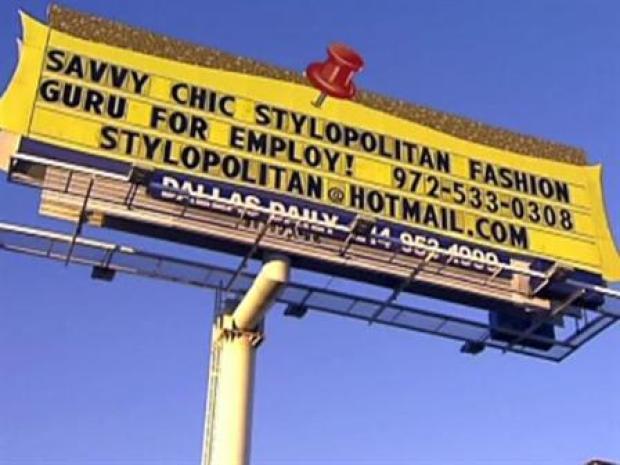 [DFW] Billboard: Hire Me, Please