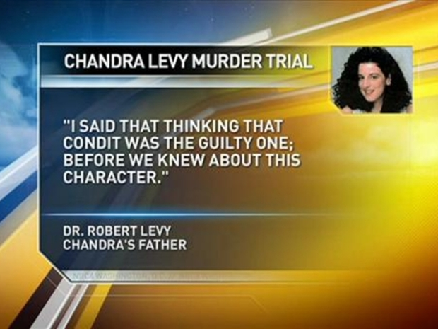 [DC] Chandra Levy's Father Takes the Stand