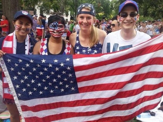 PHOTOS: D.C. Fans Cheer on U.S. Soccer Team