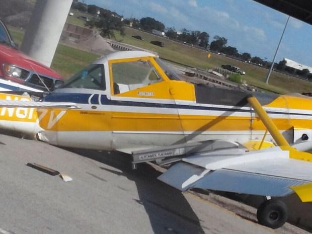Plane Makes Emergency Landing on I-20